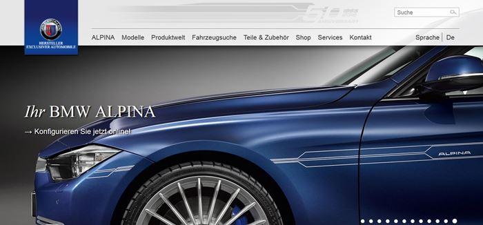 Projektpartner - Alpina Automobile