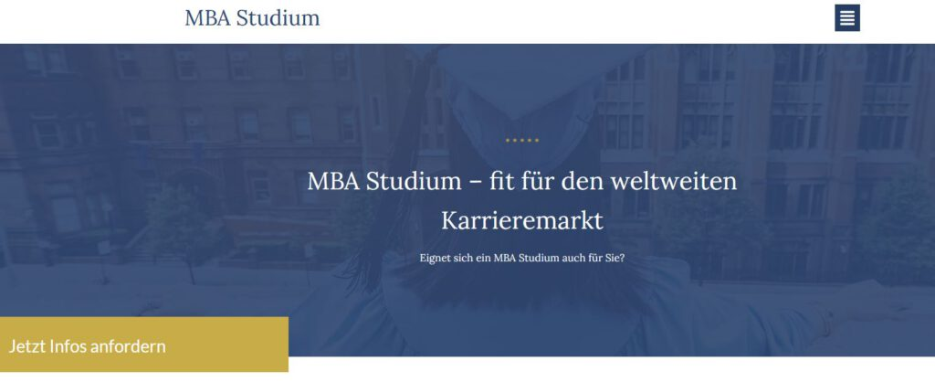Projektpartner - MBA Studium