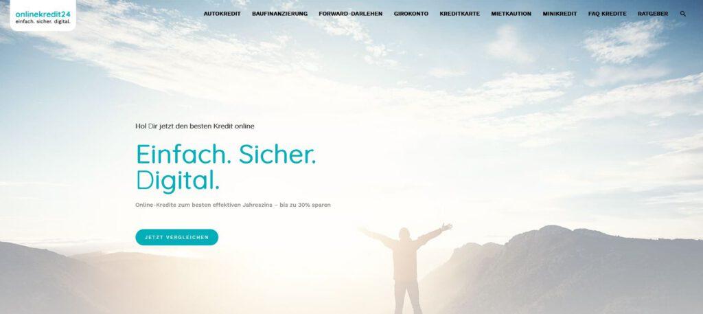 Online-Kredit24 - einfach.sicher.digital