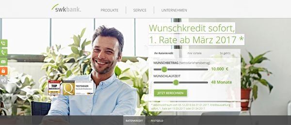 Projektpartner SWK Bank Deutschland