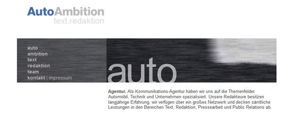 Projektpartner - Auto Ambition