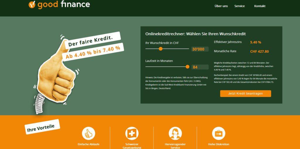 Projektpartner - goodfinance.ch