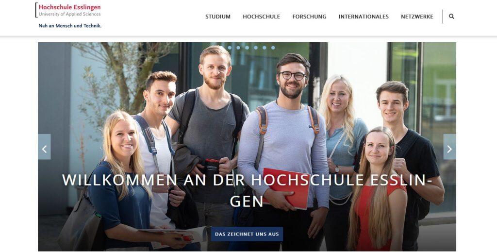 Projektpartner - Hochschule Esslingen